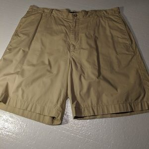 J CREW TAN KHAKI SHORTS 36